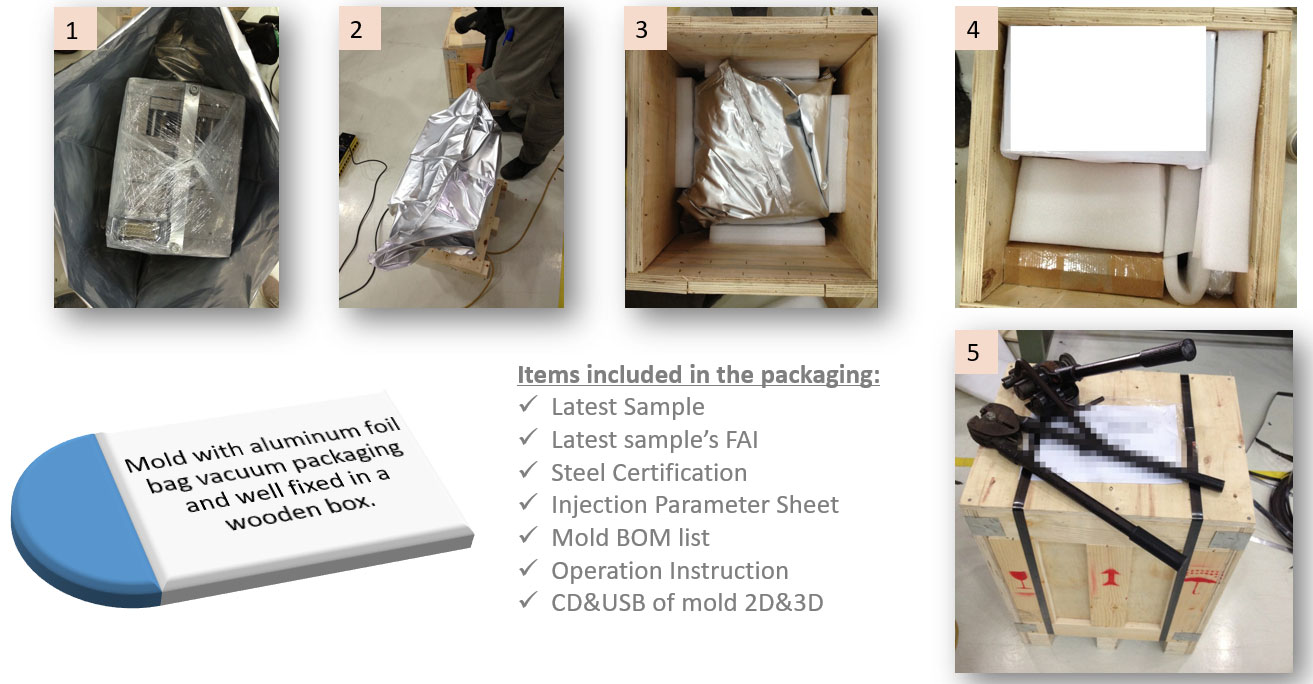 Packaging For Mold